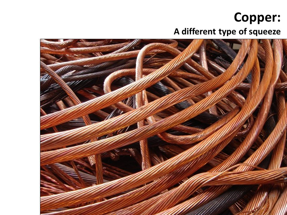 Copper: A different type of squeeze