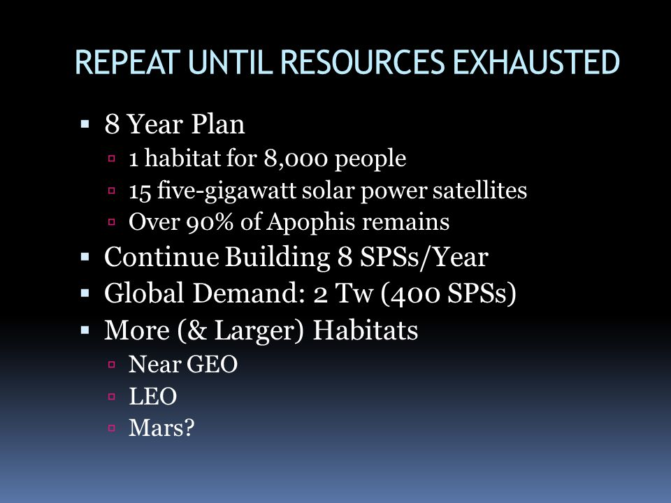 REPEAT UNTIL RESOURCES EXHAUSTED