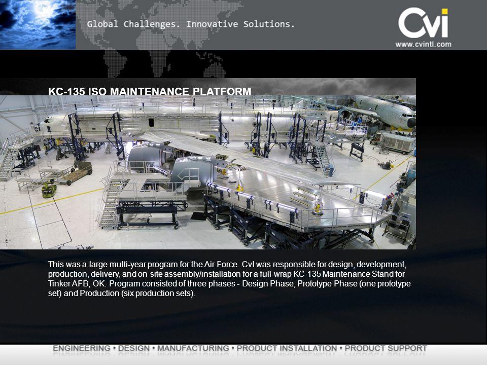 KC-135 ISO MAINTENANCE PLATFORM