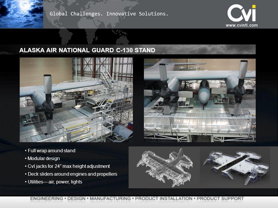 ALASKA AIR NATIONAL GUARD C-130 STAND