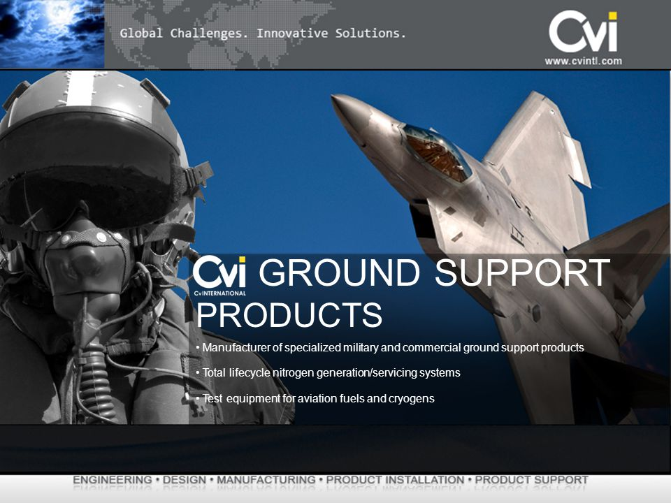 GROUND SUPPORT PRODUCTS
