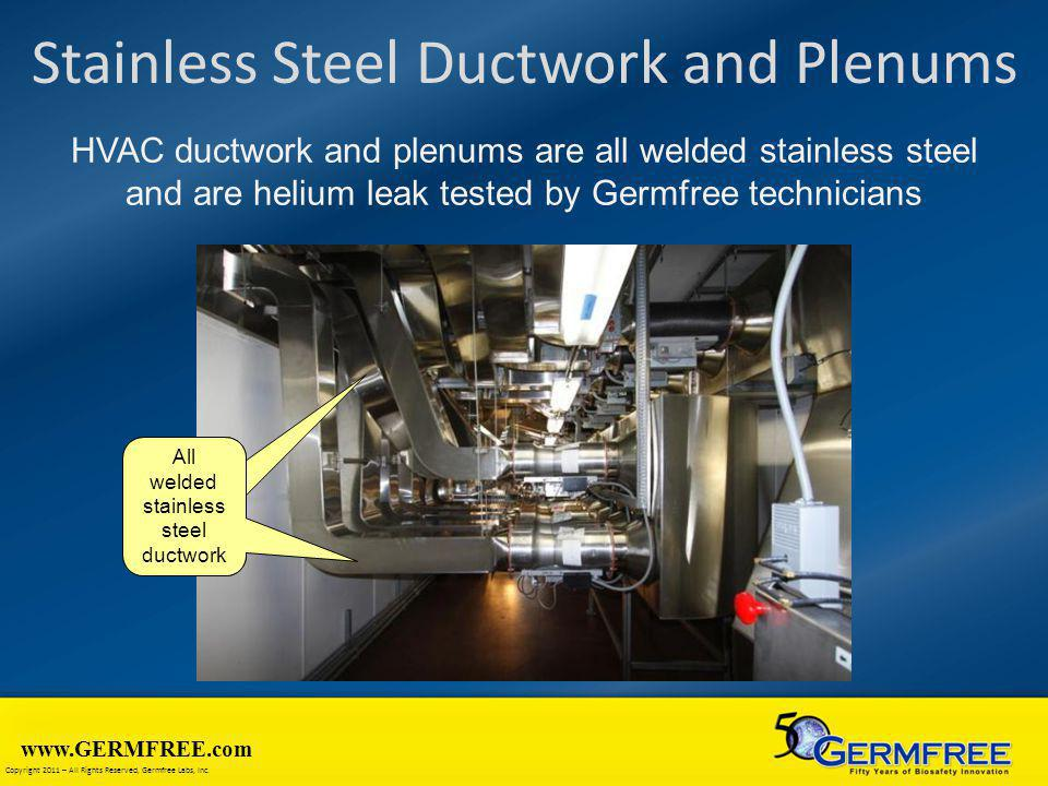Stainless Steel Ductwork and Plenums