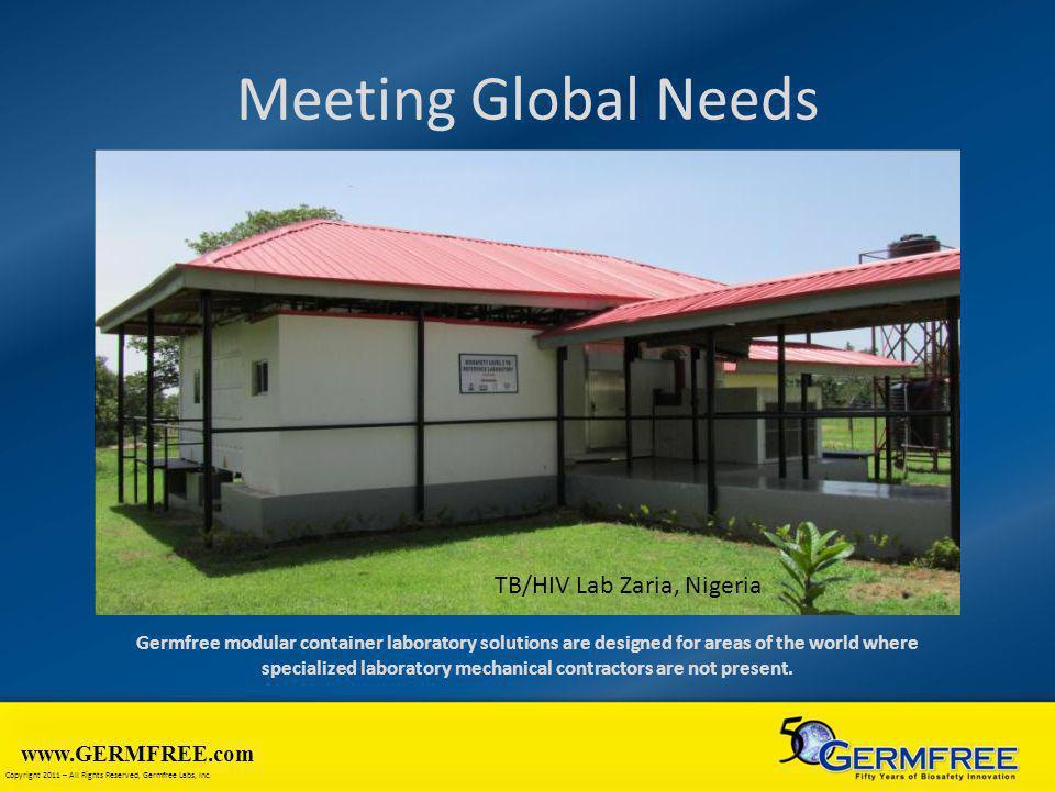 Meeting Global Needs TB/HIV Lab Zaria, Nigeria