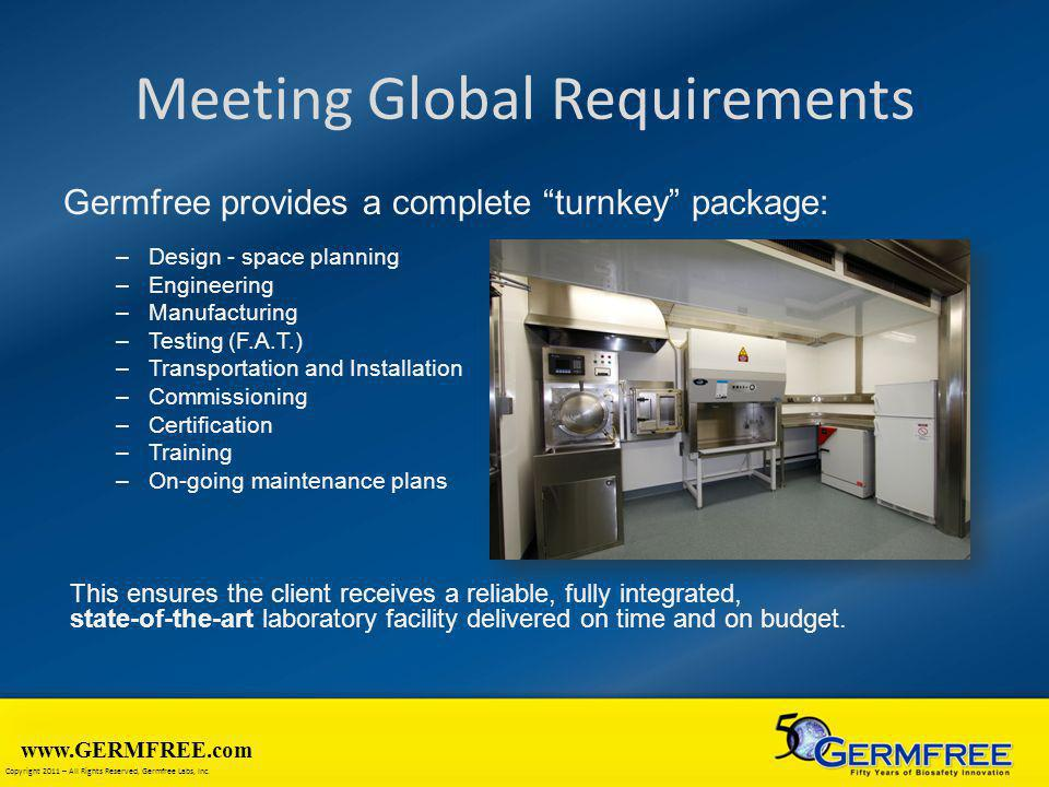 Meeting Global Requirements