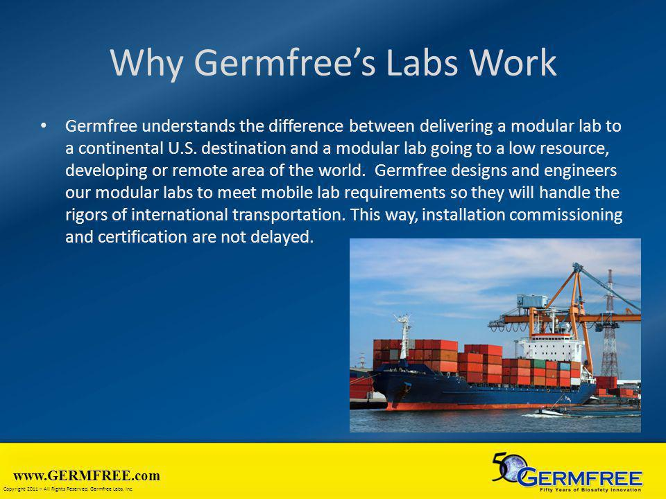 Why Germfree's Labs Work