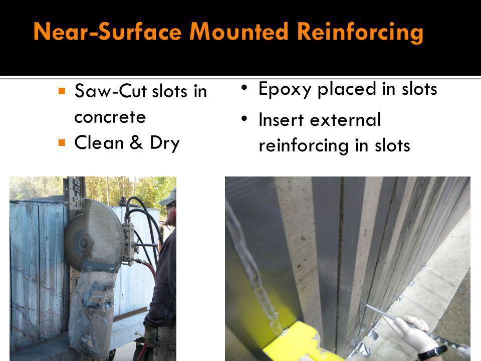 Near-Surface Mounted Reinforcing