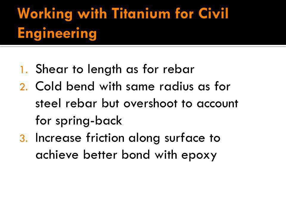 Working with Titanium for Civil Engineering