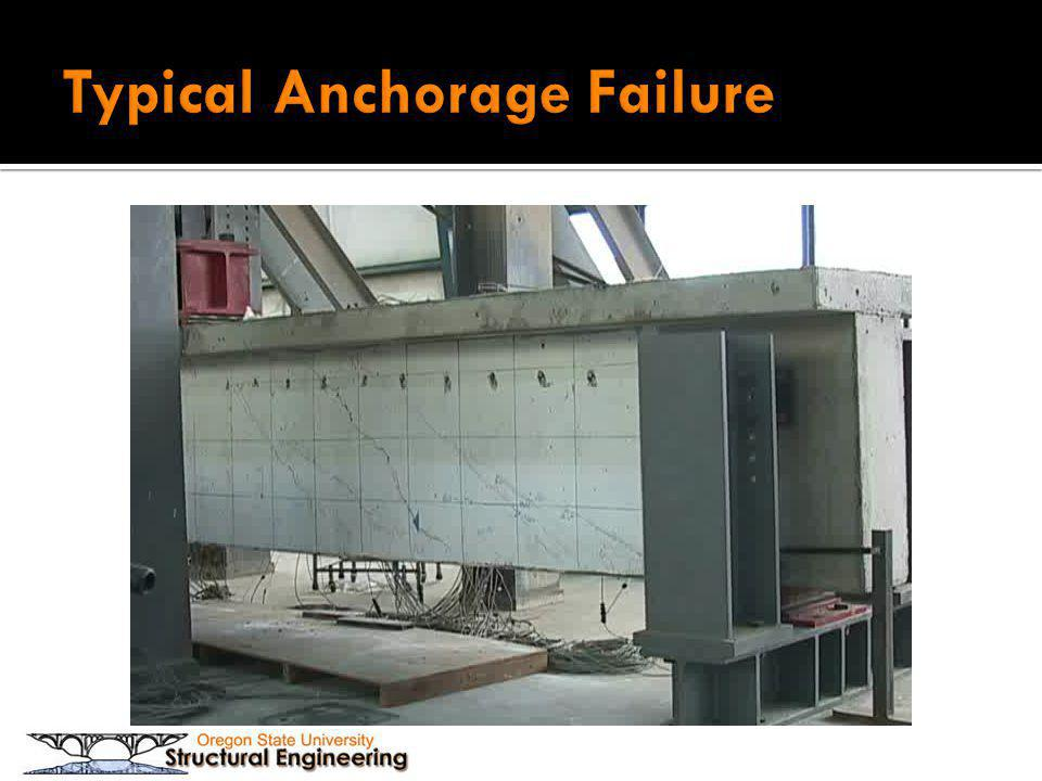 Typical Anchorage Failure