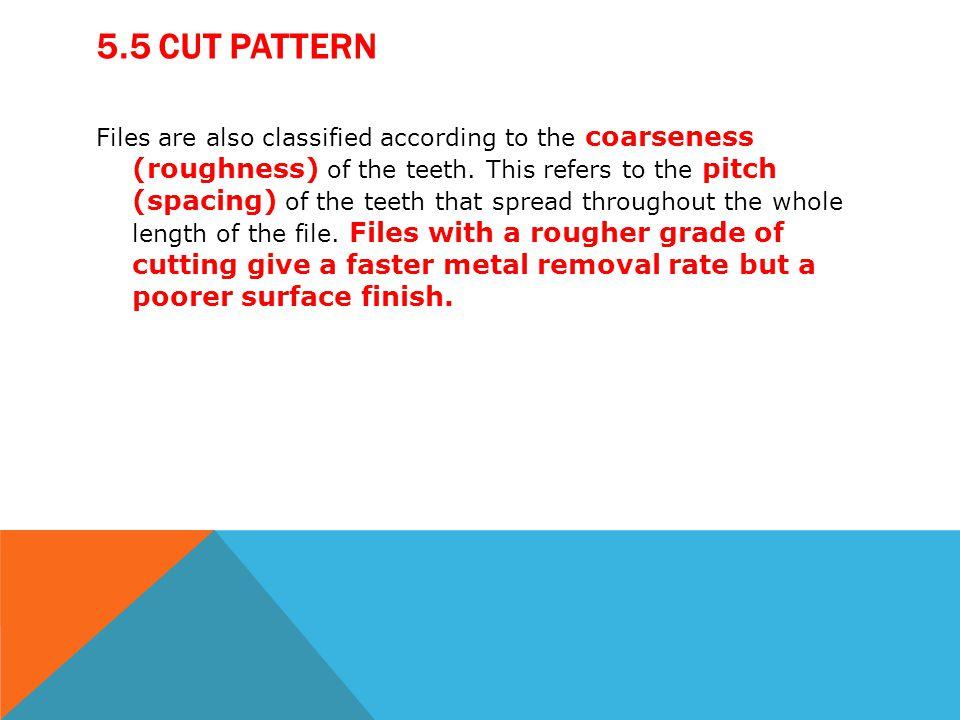 5.5 Cut Pattern