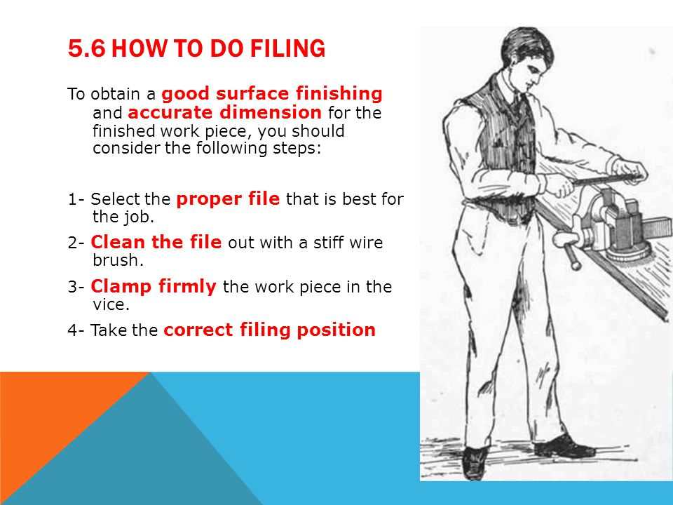 5.6 How to do Filing