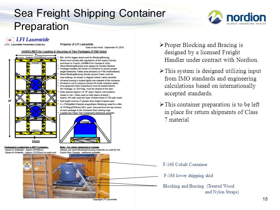 Sea Freight Shipping Container Preparation