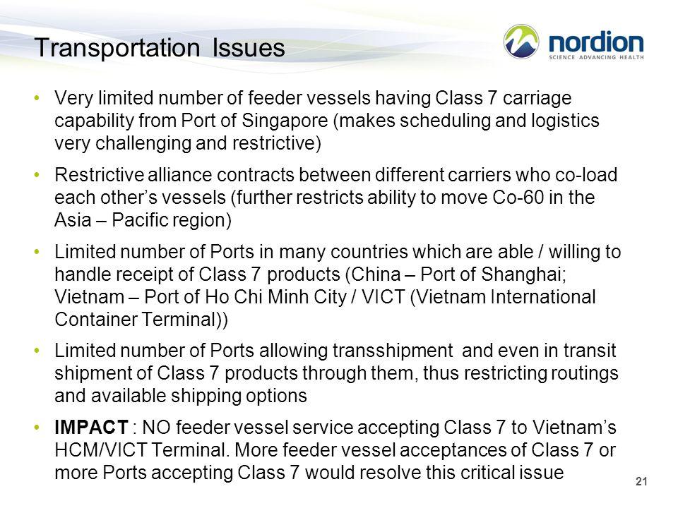 Transportation Issues