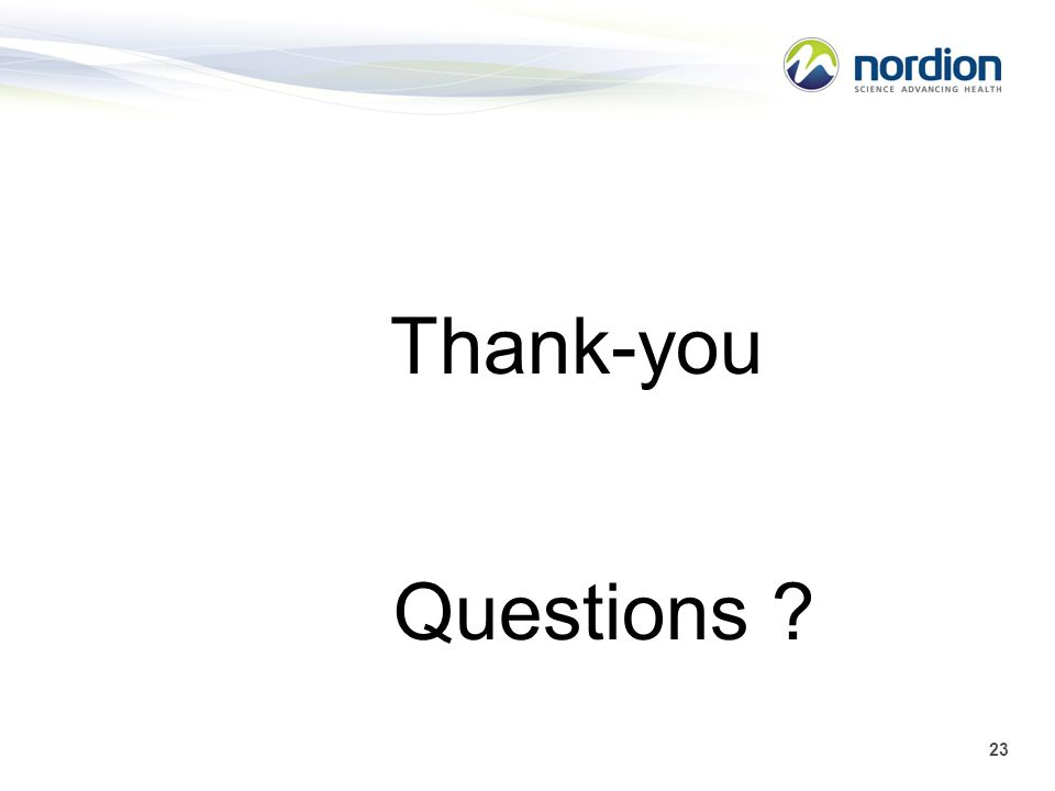 Thank-you Questions