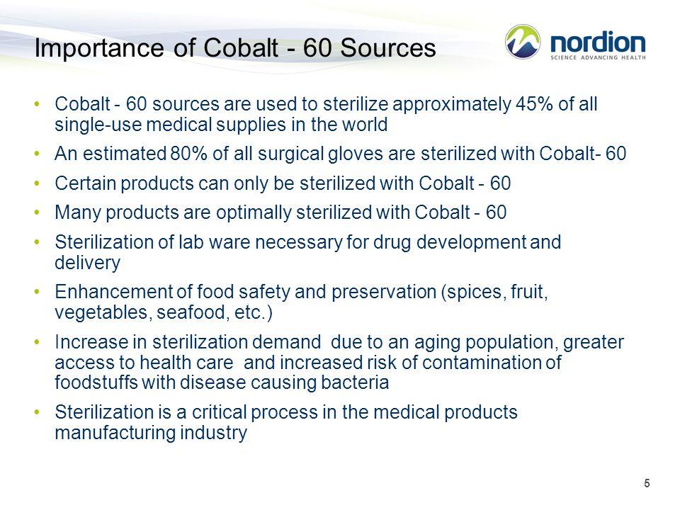 Importance of Cobalt - 60 Sources