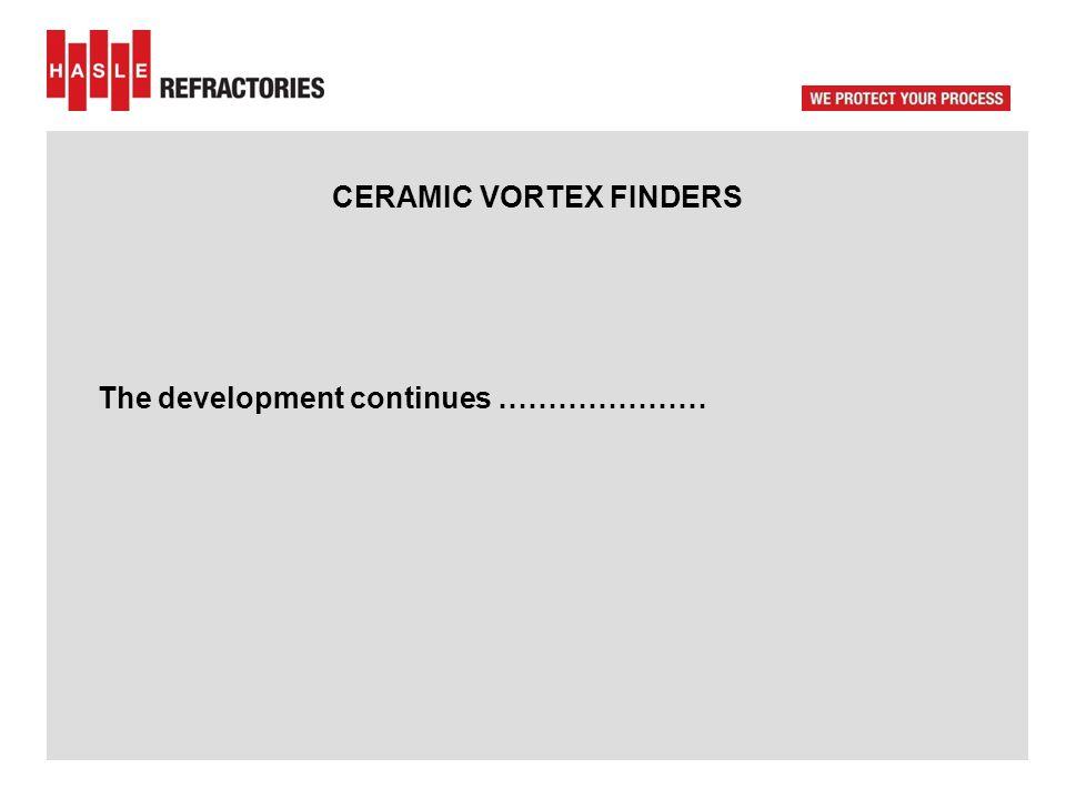 CERAMIC VORTEX FINDERS