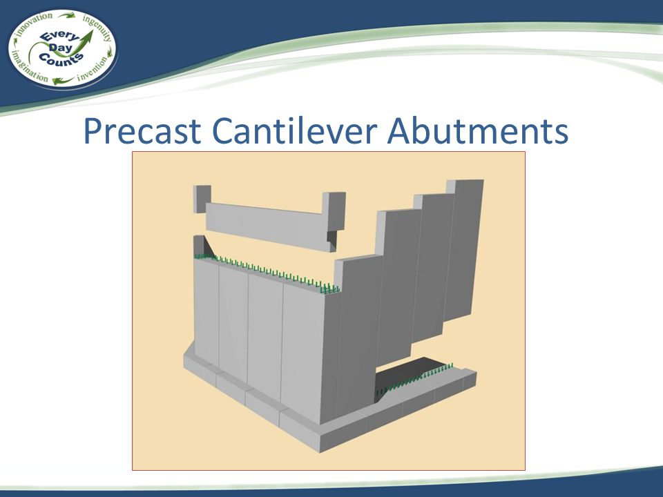Precast Cantilever Abutments