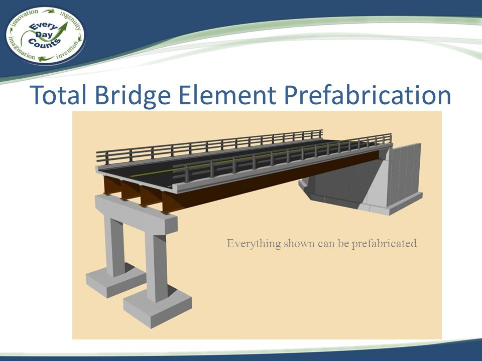 Total Bridge Element Prefabrication
