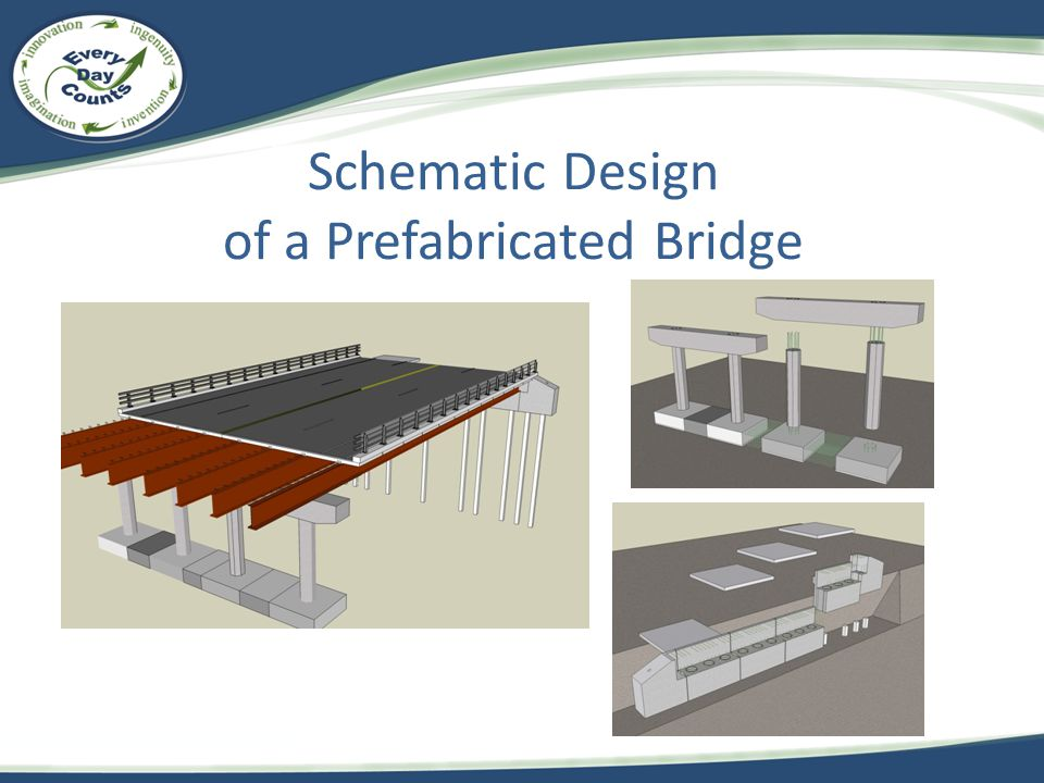 Schematic Design of a Prefabricated Bridge