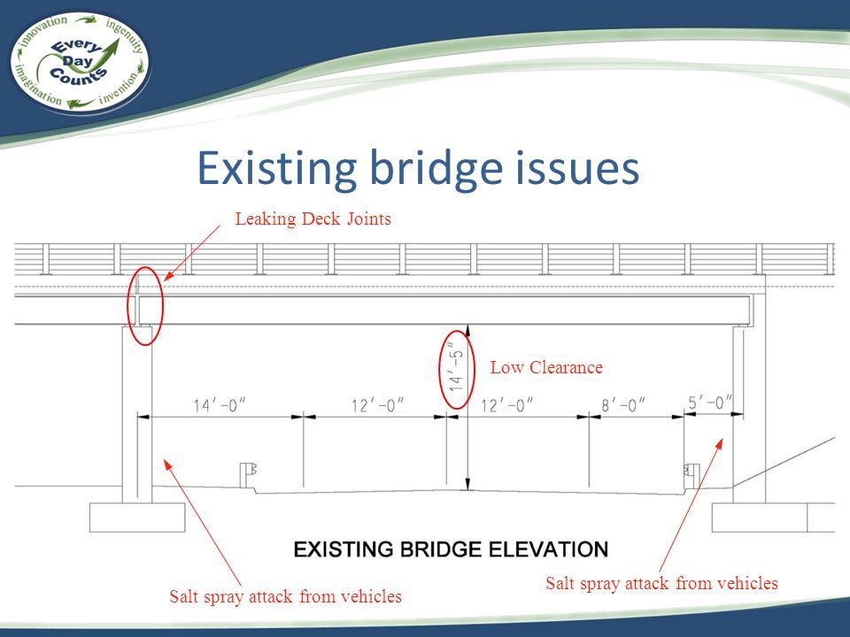 Existing bridge issues