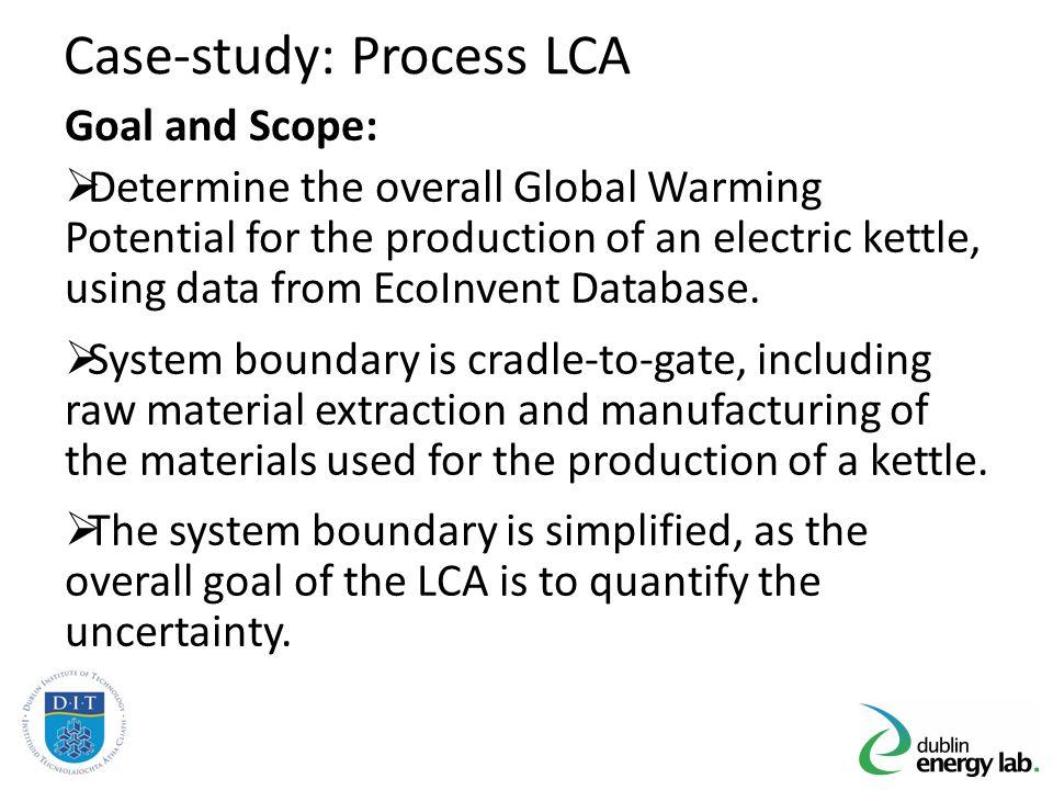 Case-study: Process LCA