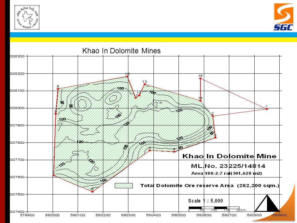 Khao In Dolomite Mines