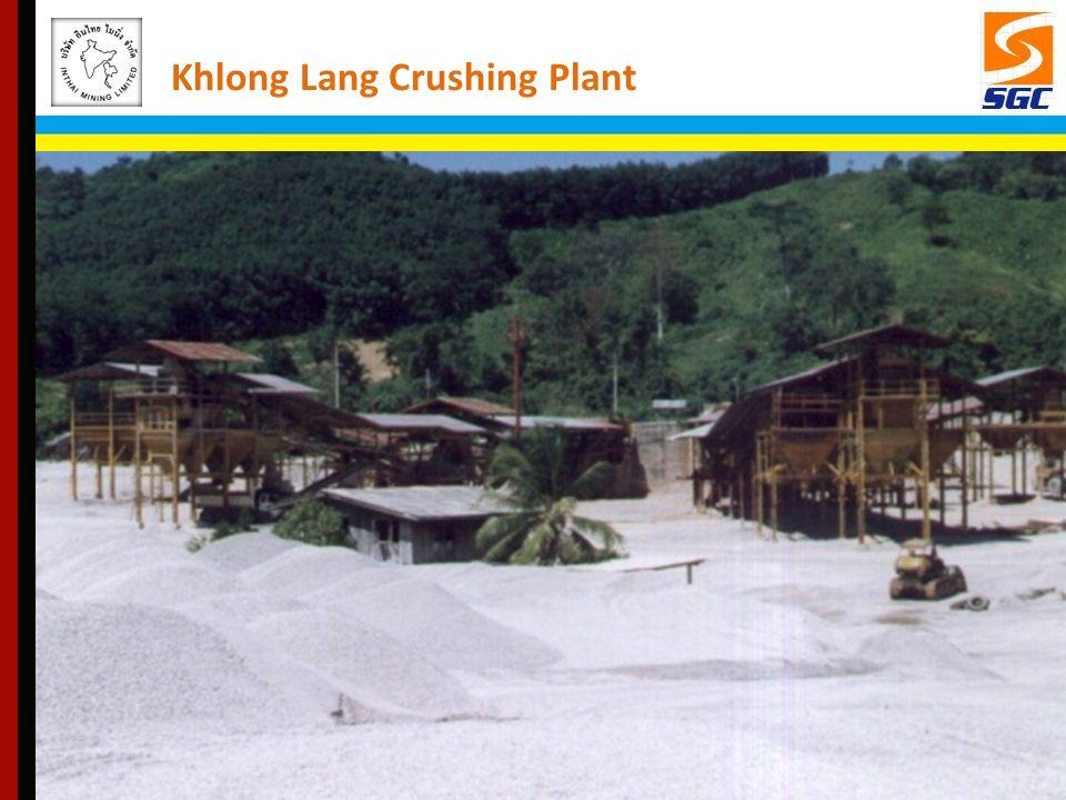 Khlong Lang Crushing Plant