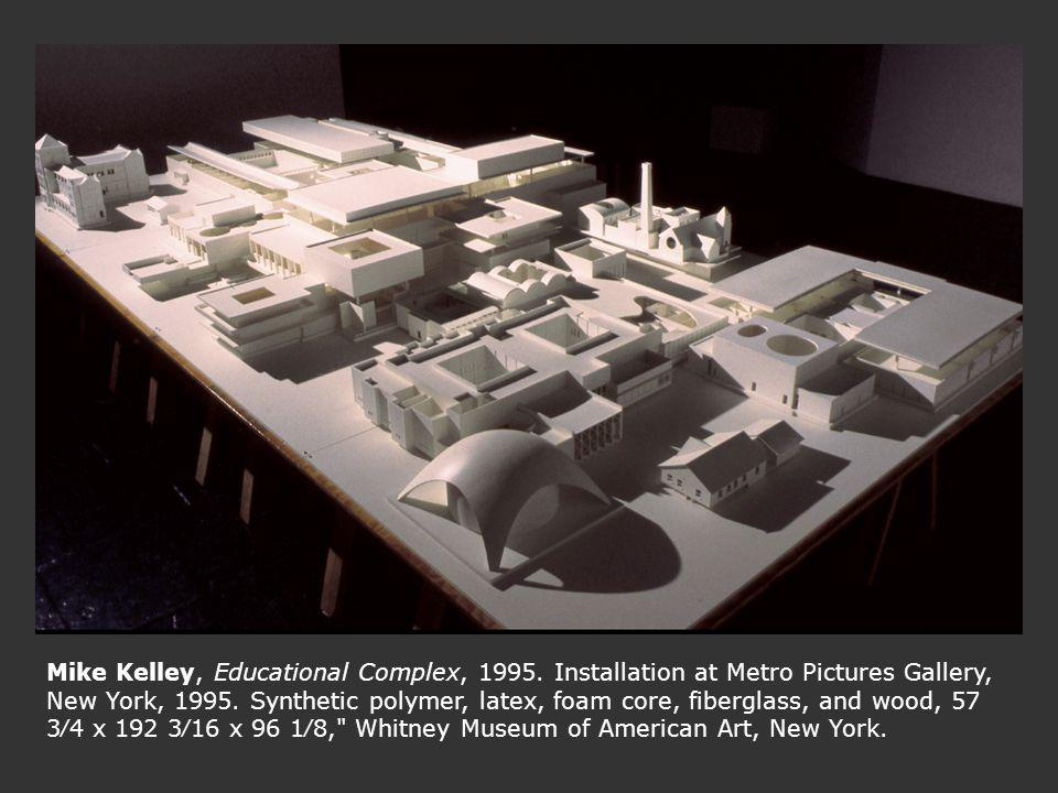Mike Kelley, Educational Complex, 1995