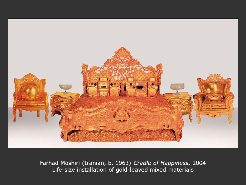 Farhad Moshiri (Iranian, b. 1963) Cradle of Happiness, 2004