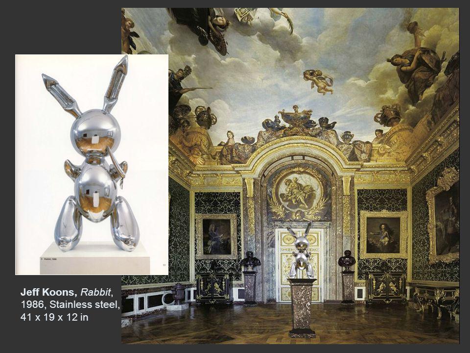 Jeff Koons, Rabbit, 1986, Stainless steel, 41 x 19 x 12 in
