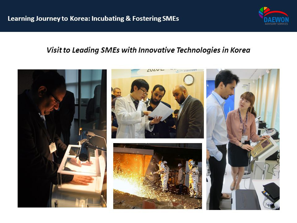 Visit to Leading SMEs with Innovative Technologies in Korea