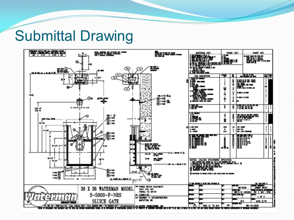 Submittal Drawing 11