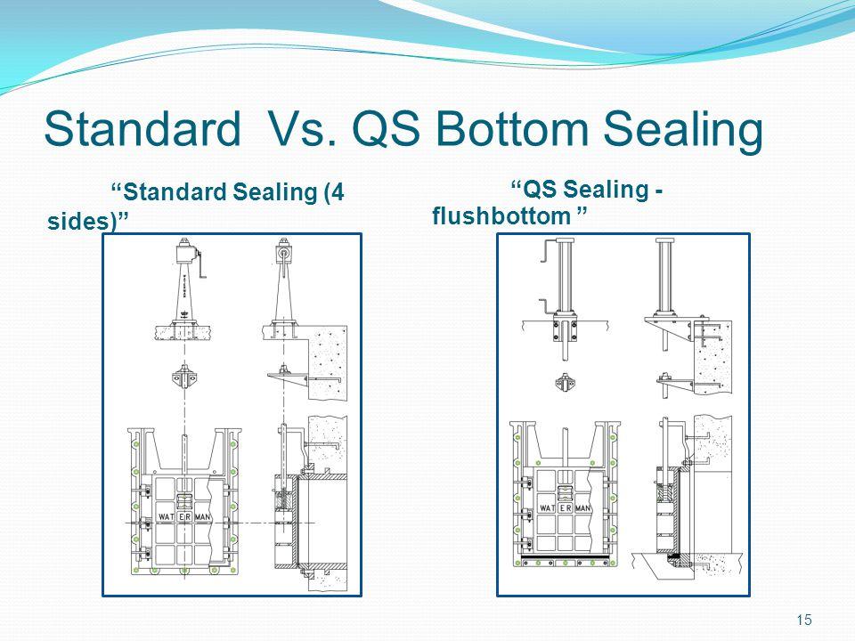 Standard Vs. QS Bottom Sealing