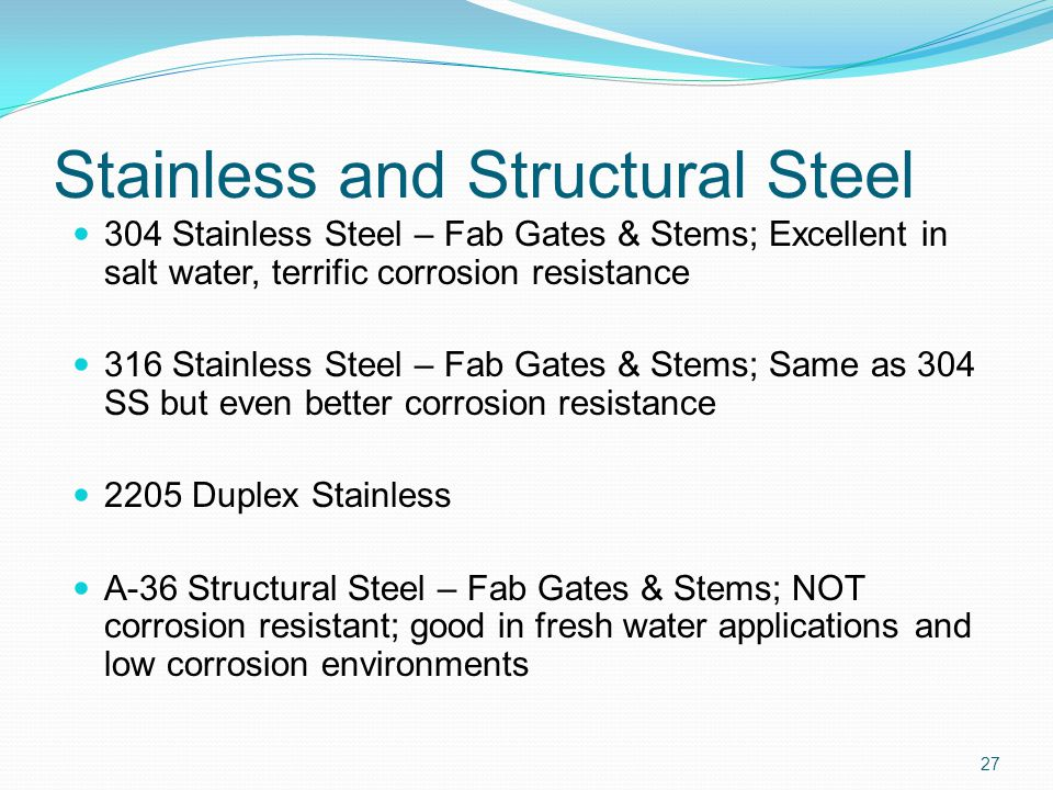 Stainless and Structural Steel