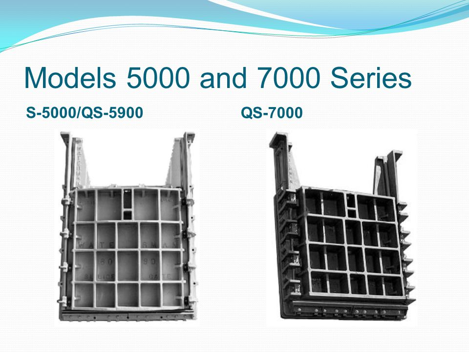 Models 5000 and 7000 Series S-5000/QS-5900 QS-7000