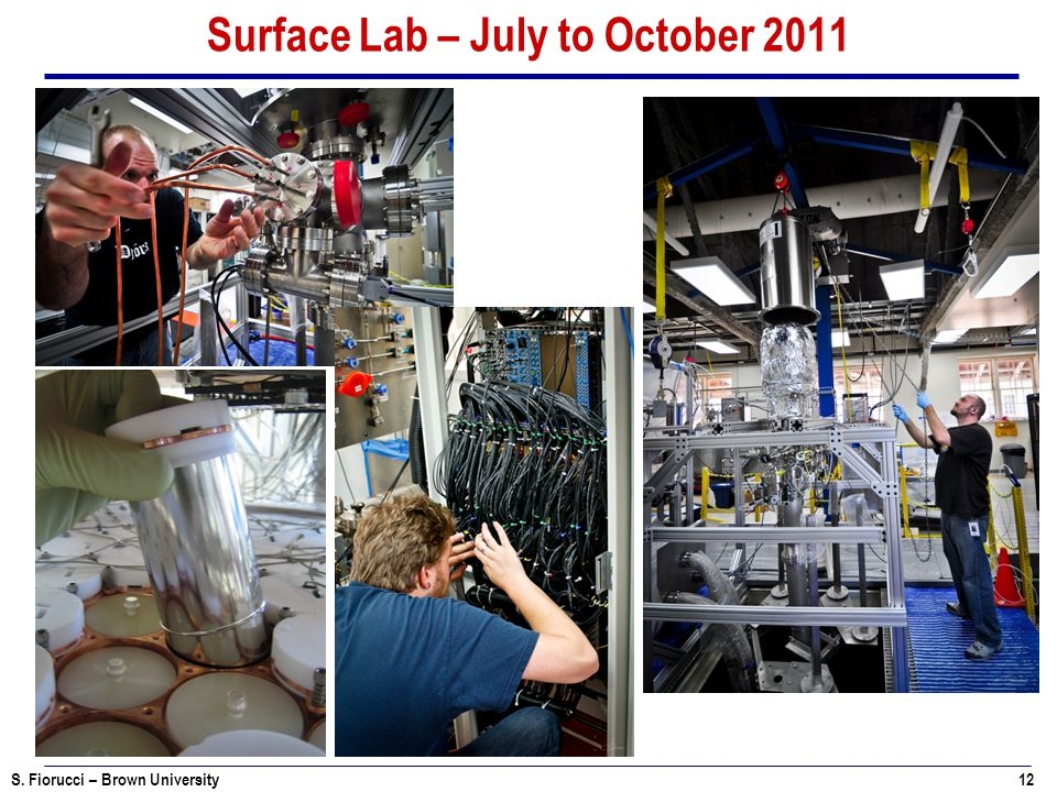Surface Lab – July to October 2011