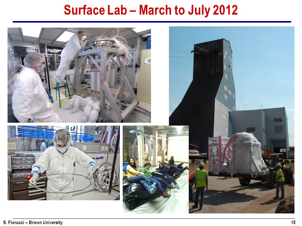 Surface Lab – March to July 2012