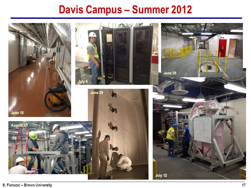 Davis Campus – Summer 2012 June 25 July 6 June 29 June 15 August 25