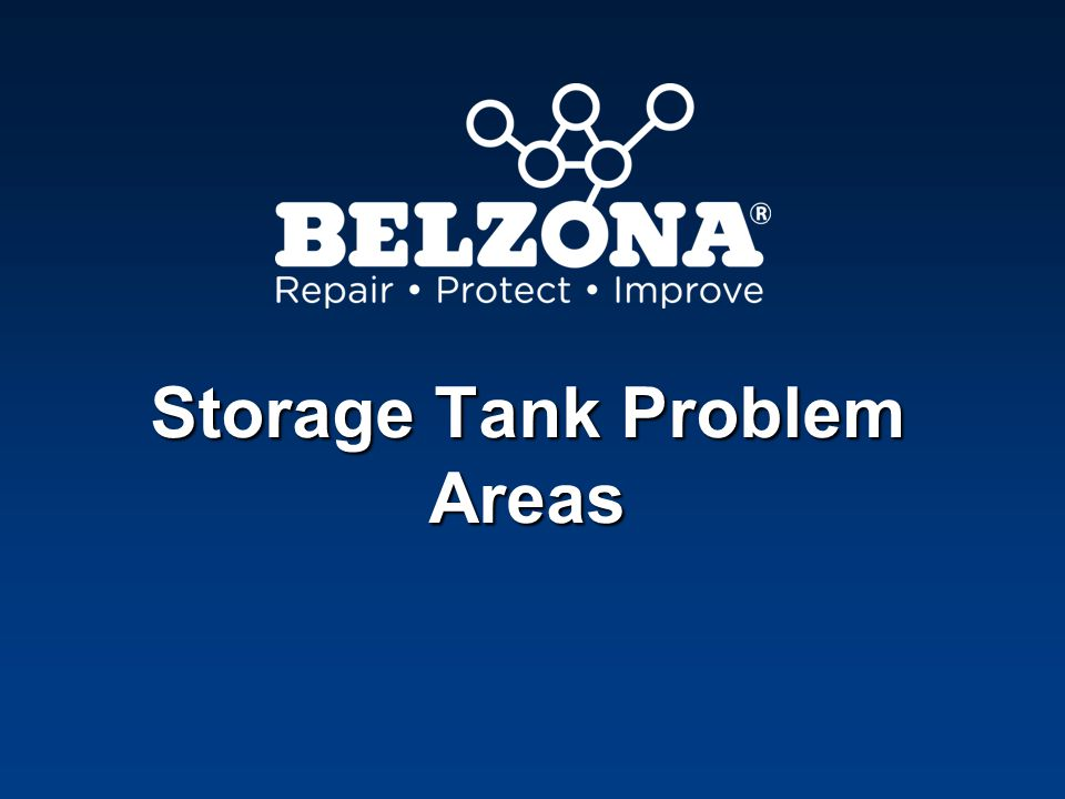 Storage Tank Problem Areas