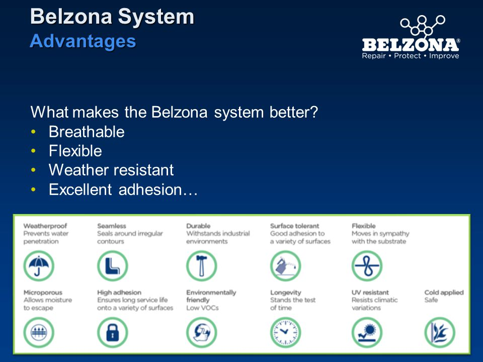 Belzona System Advantages What makes the Belzona system better
