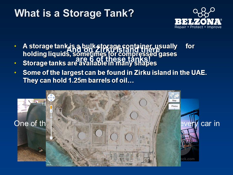 And on Zirku Island there are 6 of these tanks!
