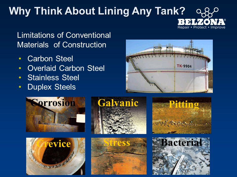 Why Think About Lining Any Tank