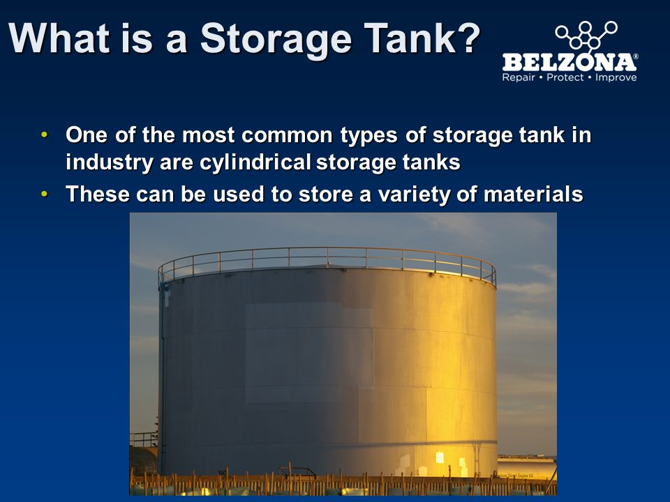 What is a Storage Tank One of the most common types of storage tank in industry are cylindrical storage tanks.