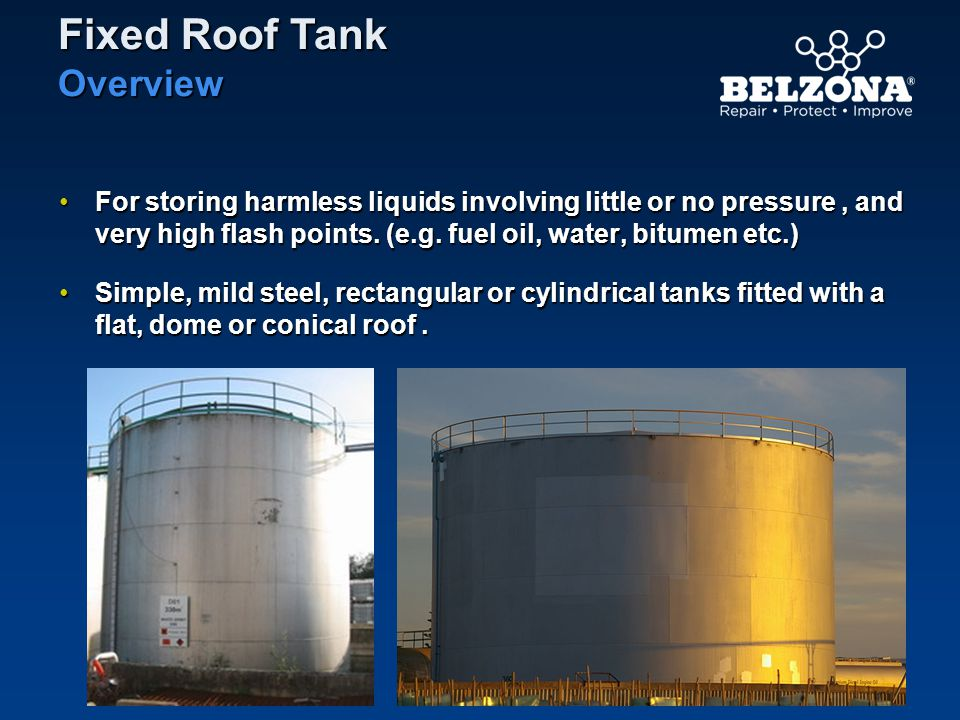 Fixed Roof Tank Overview