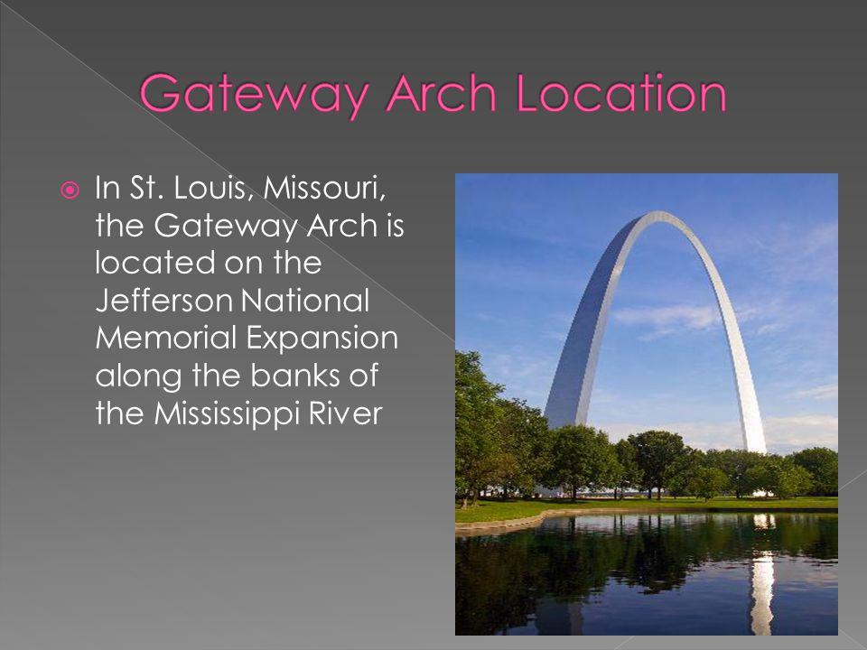 Gateway Arch Location