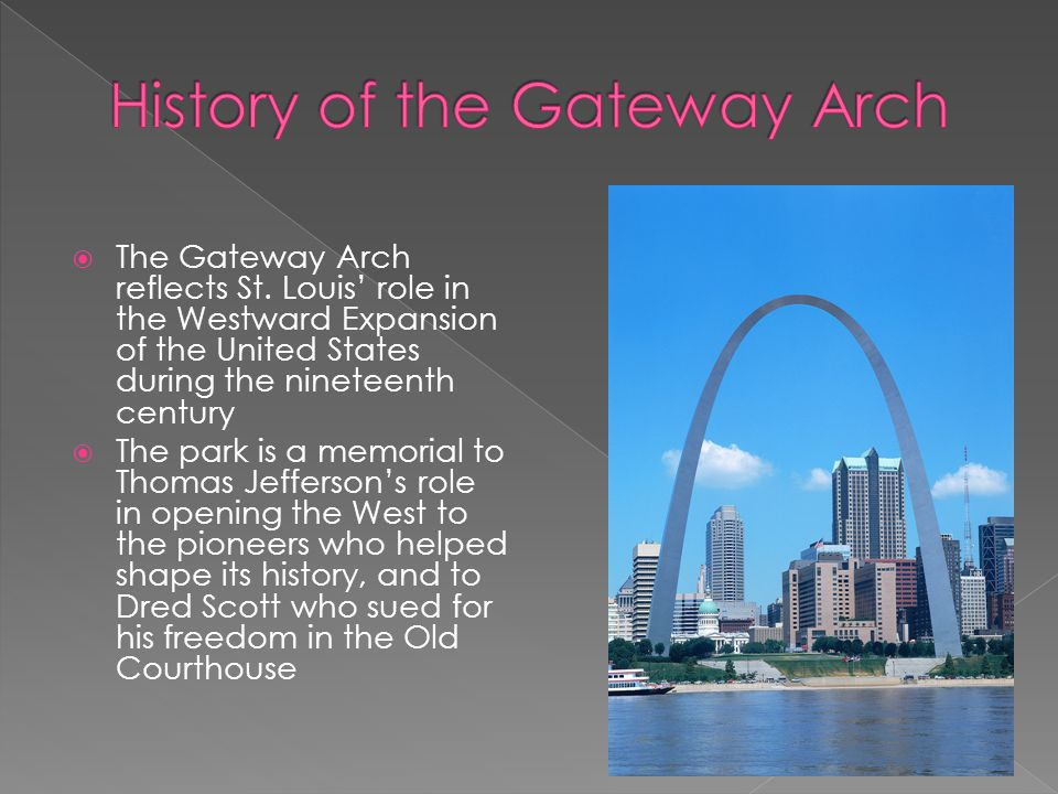 History of the Gateway Arch