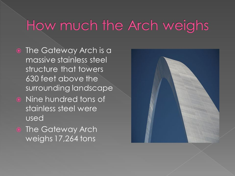 How much the Arch weighs