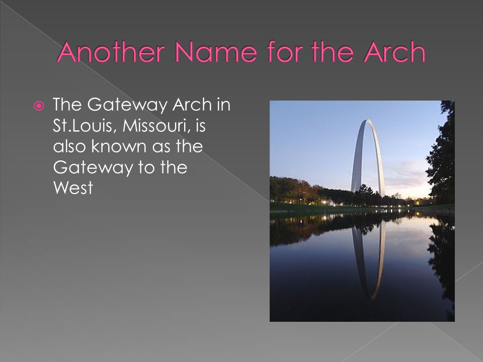 Another Name for the Arch