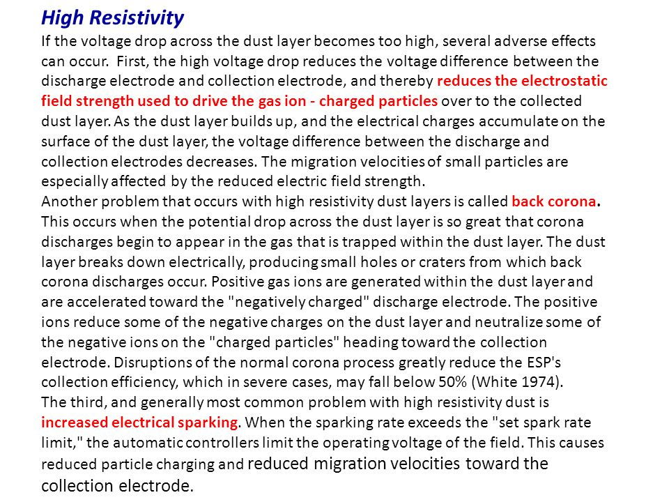 High Resistivity