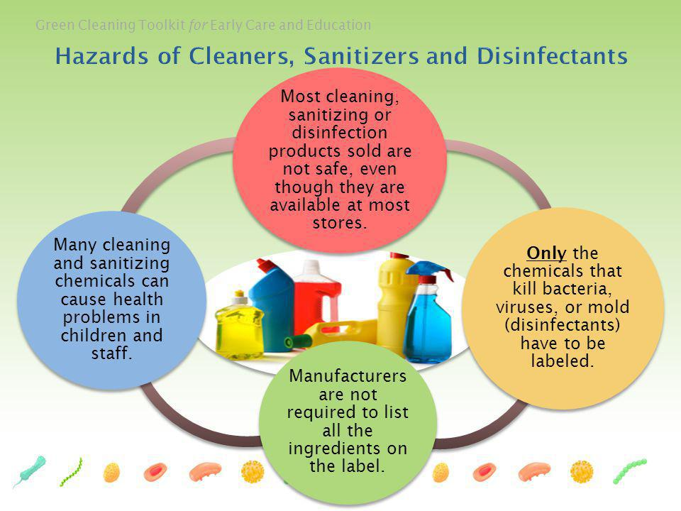 Hazards of Cleaners, Sanitizers and Disinfectants