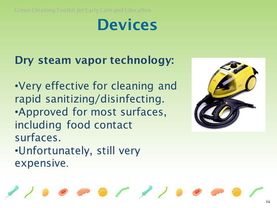 Devices Dry steam vapor technology: